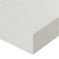 Kaboodle 32 x 300 - 600mm Single Crackle Crush Gloss Square Edge Benchtop