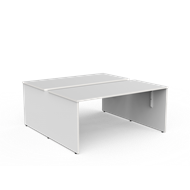 CeVello White Two Worktop Desk