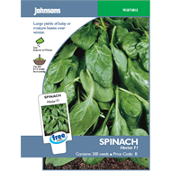 Johnsons Hector Spinach Vegetable Seeds