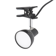 Verve Design Black Tobi Clip Lamp