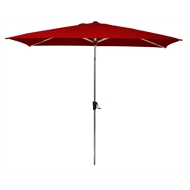 Coolaroo Eucalypt 3 x 2m Ruby Rectangular Market Umbrella