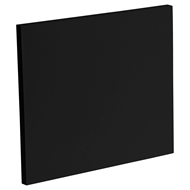 Kaboodle Black Olive Slimline End Panel