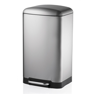 Oates 30L Stainless Steel Premium Softclose Pedal Bin