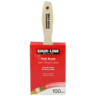 Shur-Line 100mm Synthetic Wall Paint Brush