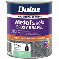Dulux Metalshield 500ml Deep Base Topcoat Epoxy Enamel Paint