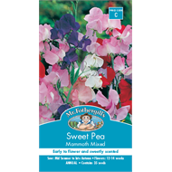 Mr Fothergill's Sweet Pea Mammoth Mixed Flower Seeds