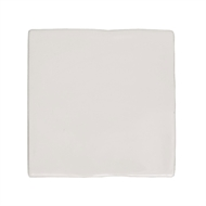 Decor8 150 x 150mm Super White Devonshire Ceramic Wall Tiles - 22 Pack