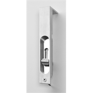 Lemaar 200mm Satin Chrome Flush Bolt