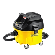 DeWalt 1400W 30L L Class Wet And Dry Dust Extractor Vacuum