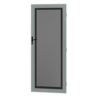 Protector Aluminium 808-848 x 2030-2070mm Adjustable Perforated Security Door - Windspray