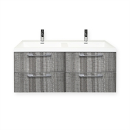 Forme 1200mm Grey Ash Cabin Wall Hung Vanity