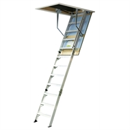 Kimberley 700mm x 3.52 - 3.73m Aluminium Attic Ladder
