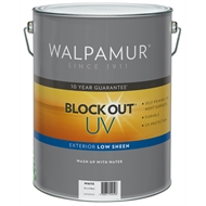 Walpamur Blockout Low Sheen Extra Bright 10L
