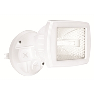 Brilliant 150W White Flex Halogen Flood Light