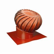 Brutus 300mm Aluminium Roof Vent - Terracotta