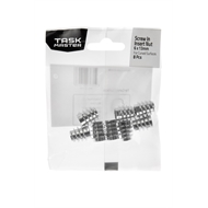 Taskmaster 6 x 13mm Screw In Insert Nut For Curved Surfaces - 8 Pack