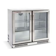 Matador 228L Stainless Steel Double Door Bar Fridge