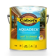 Cabots Aquadeck Natural Exterior Decking Oil - 4L