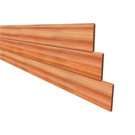 181 x 18mm Vee Joint Tongue And Groove Cedar Cladding - Per Linear Metre