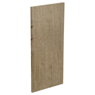 Kaboodle Spiced Oak Wall End Panel
