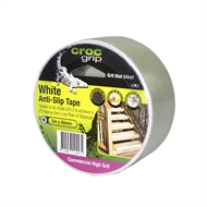 Croc Grip 5m x 48mm White Anti-Slip Tape