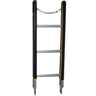 Indalex 1.1m 150kg Fibreglass Sectional Ladder, Top Section Only