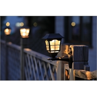 Lectro LED Solar Coach Light - Twin Pack