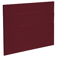 Kaboodle 900mm Seduction Red Heritage 3 Drawer Panels