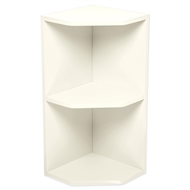 Kaboodle Antique White Open End Wall Cabinet