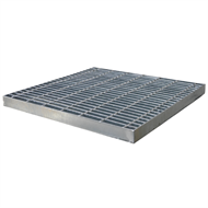 Everhard Series 600 Class A Galvanised Grate