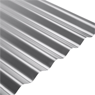 COLORBOND® Steel XRW S-Rib™ Corrugated .42 BMT Steel Roofing - Basalt