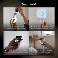 Philips Hue White Smart LED Starter Kit