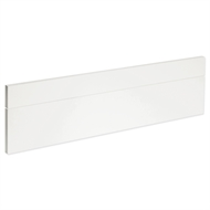 Kaboodle 900mm Gloss White Oven Front Panels - 2 Pack