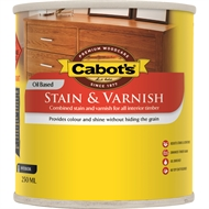 Cabots 250ml Cedar Satin Oil Based Stain And Varnish