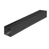 Connect-it 25.4 x 25.4 x 1.2mm 1.8m Black Anodised Aluminium Square Tube