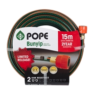Pope 12mm x 15m Bunyip Fitted Garden Hose
