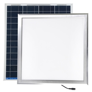 Illume 400mm Silver Surface Mount Square Skylight Alternative