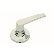 Schlage Chrome Regent Series Jupiter Dummy Lever