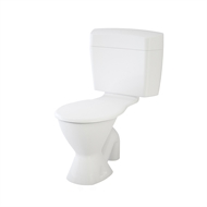 Caroma WELS 3 Star Uniset II Connector Toilet Suite S Trap