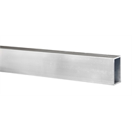Metal Mate 50 x 30 x 2mm 1m Rectangle Aluminium Angle