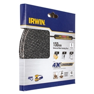 Irwin 150mm 40 Grit Orbital Sanding Disc - 5 Pack