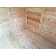 STILLA 1.93 x 0.94 x 1.94m Birch Cedar Shed