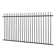 Protector Aluminium 2450 x 1200mm Custom Picket Top Pool Fence Panel