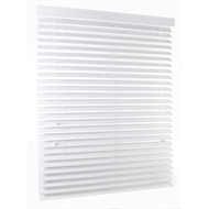 Zone Interiors 135 x 210cm 63mm Vivid White Basswood Shutterview Venetian Blind
