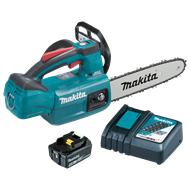 Makita 18V 250mm Bar Chainsaw Cordless Kit