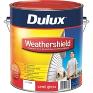 Dulux Weathershield 4L Semi Gloss Ultra Deep Exterior Paint