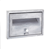 Sandleford 160 x 235mm Aluminium Hinged Letterbox Front