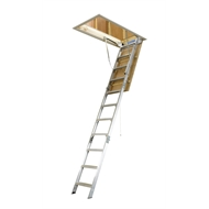 Bailey 2.44-3.05m 170kg Aluminium Folding Attic Ladder