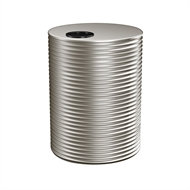 Kingspan 2000L Round Steel Water Tank - 1200mm x 1860mm Dune