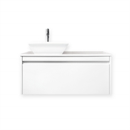 Quay 900mm Lexicon Cubo Wall Hung Vanity